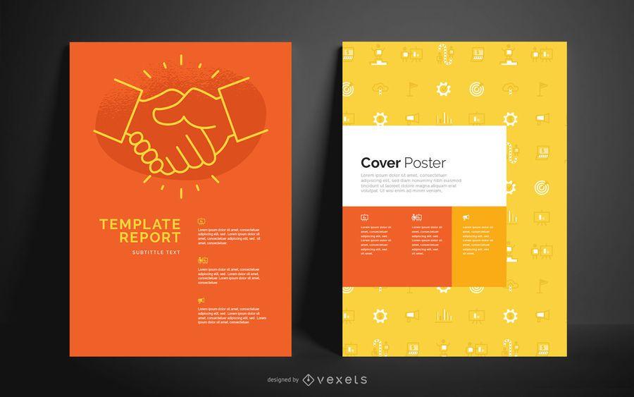 Plantilla de póster editable de negocios