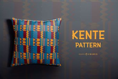 Colorful Kente Pattern Design