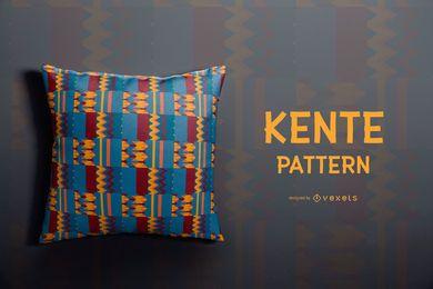 Projeto colorido do teste padrão de Kente