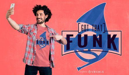 Obteve esse design de camiseta funk