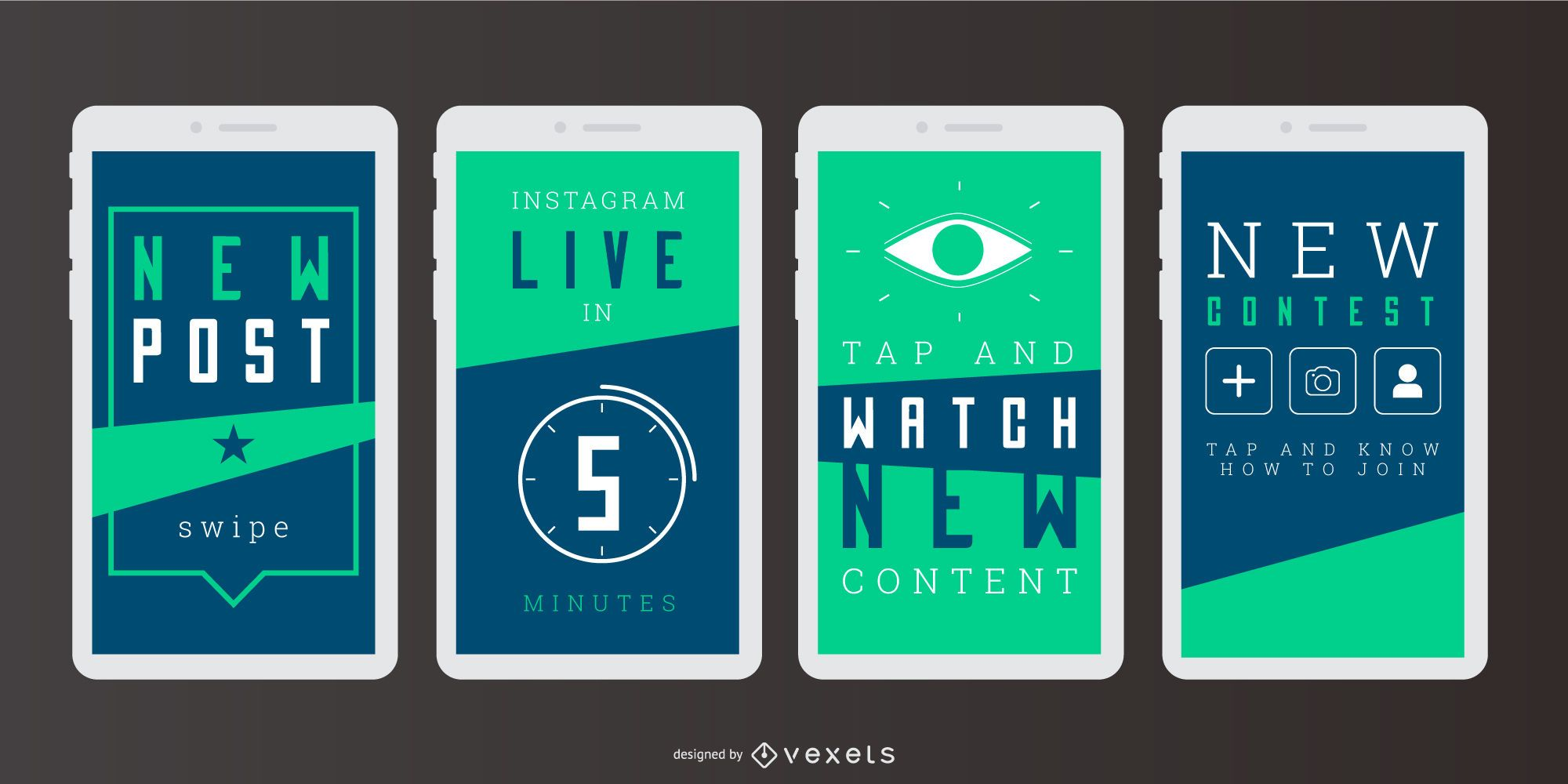 Social Story Digital Banner Set