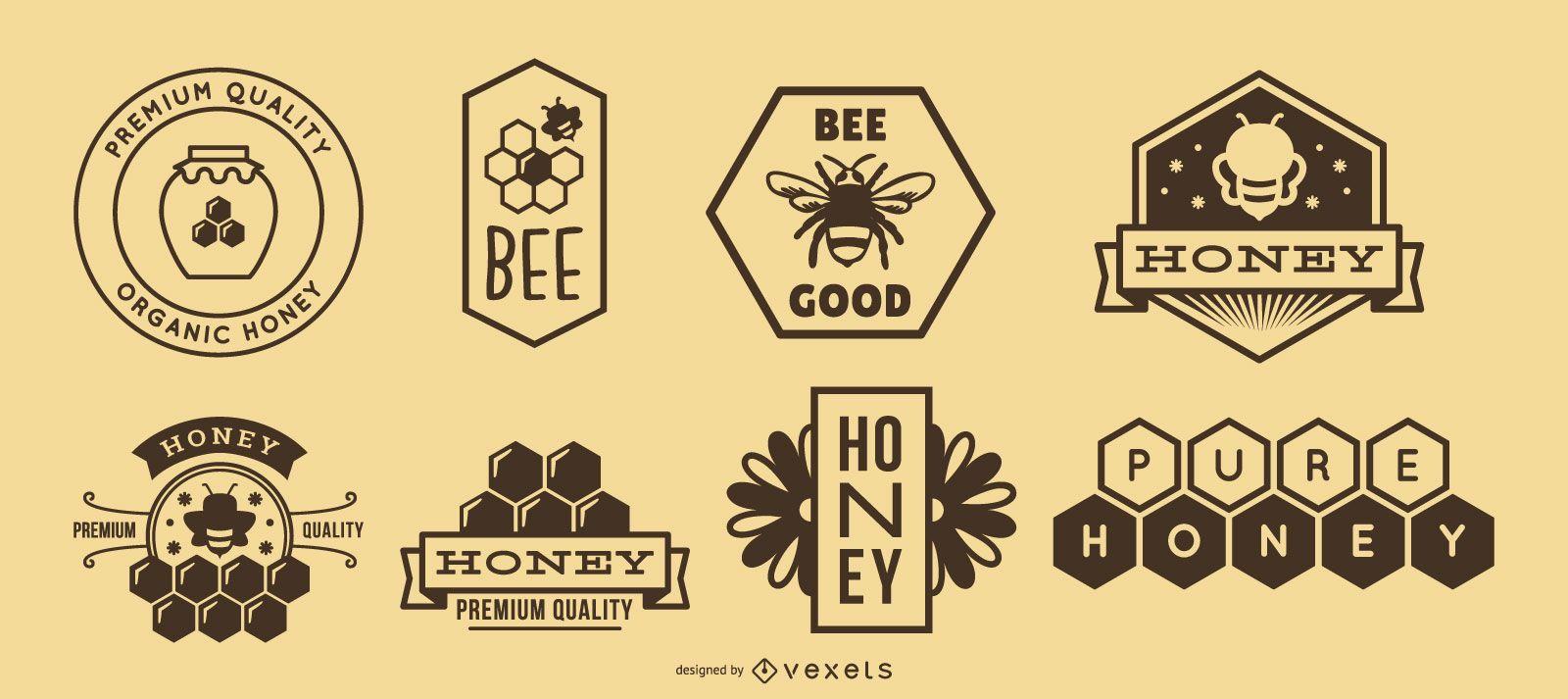 Honey logo pack