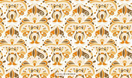 Diseño de patrón abstracto retro