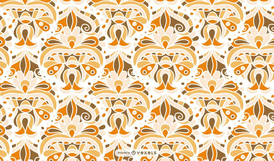 Retro abstract pattern design