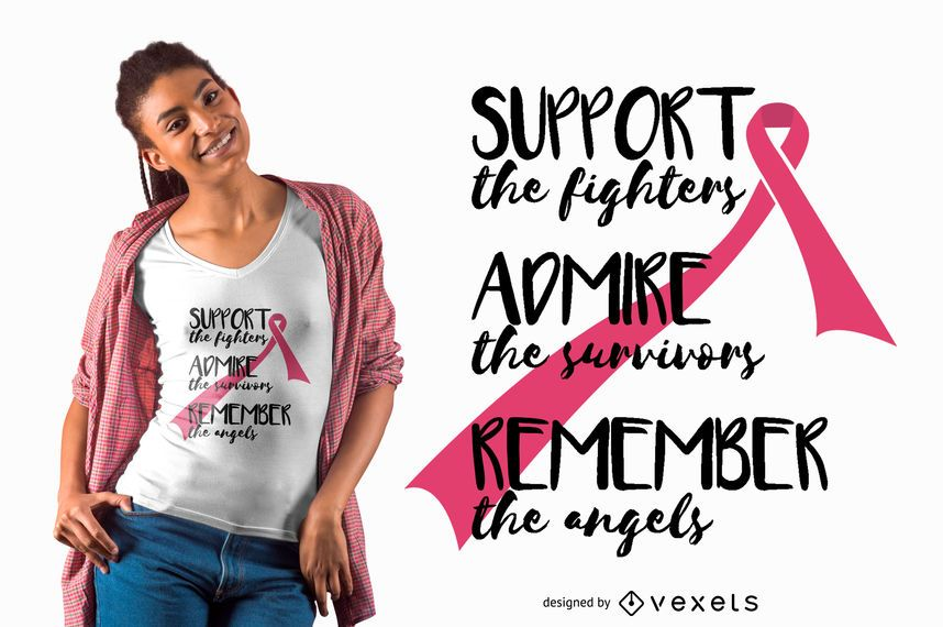 Support the fighters t-shirt design