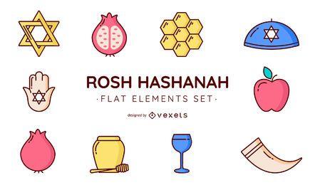 Rosh Hashanah-Vektorsatz