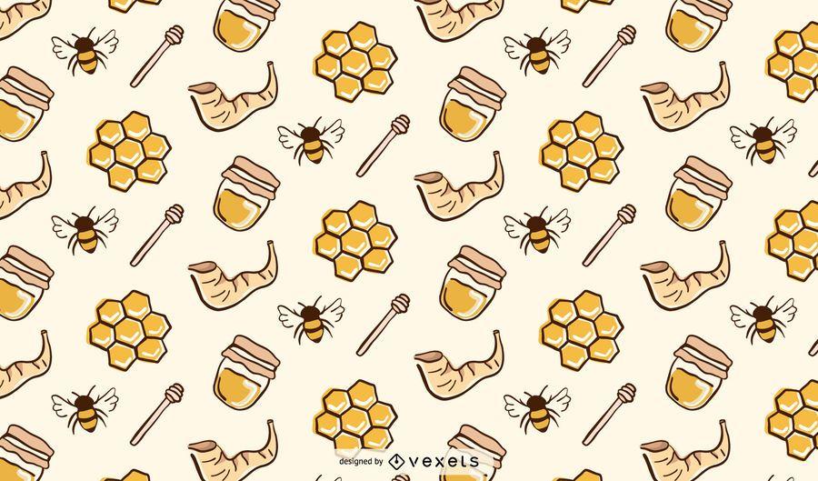 Patrón de miel de Rosh Hashaná