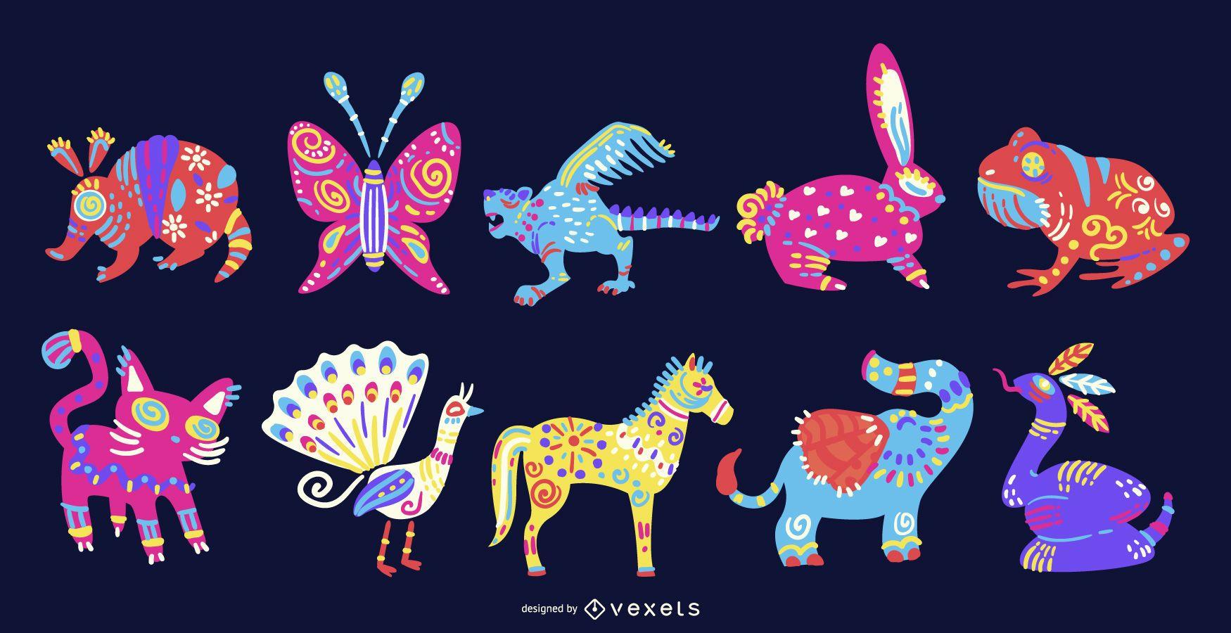 Colección Animal Alebrije