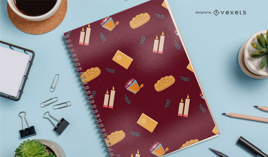 Rosh Hashanah seamless pattern design