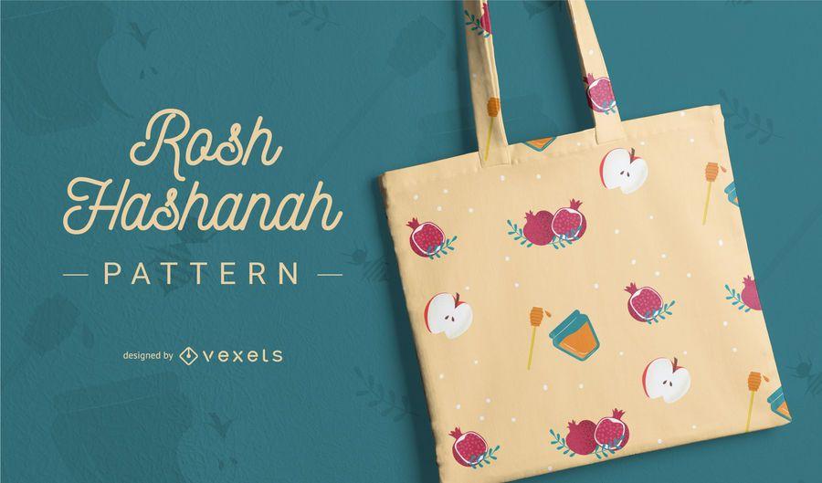 Pattern design Rosh Hashanah
