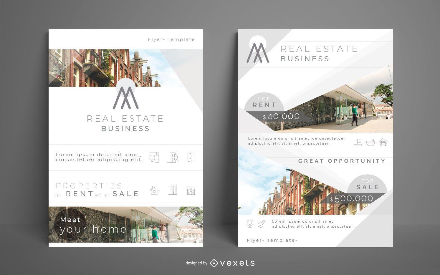 Real Estate Business Flyer Pack