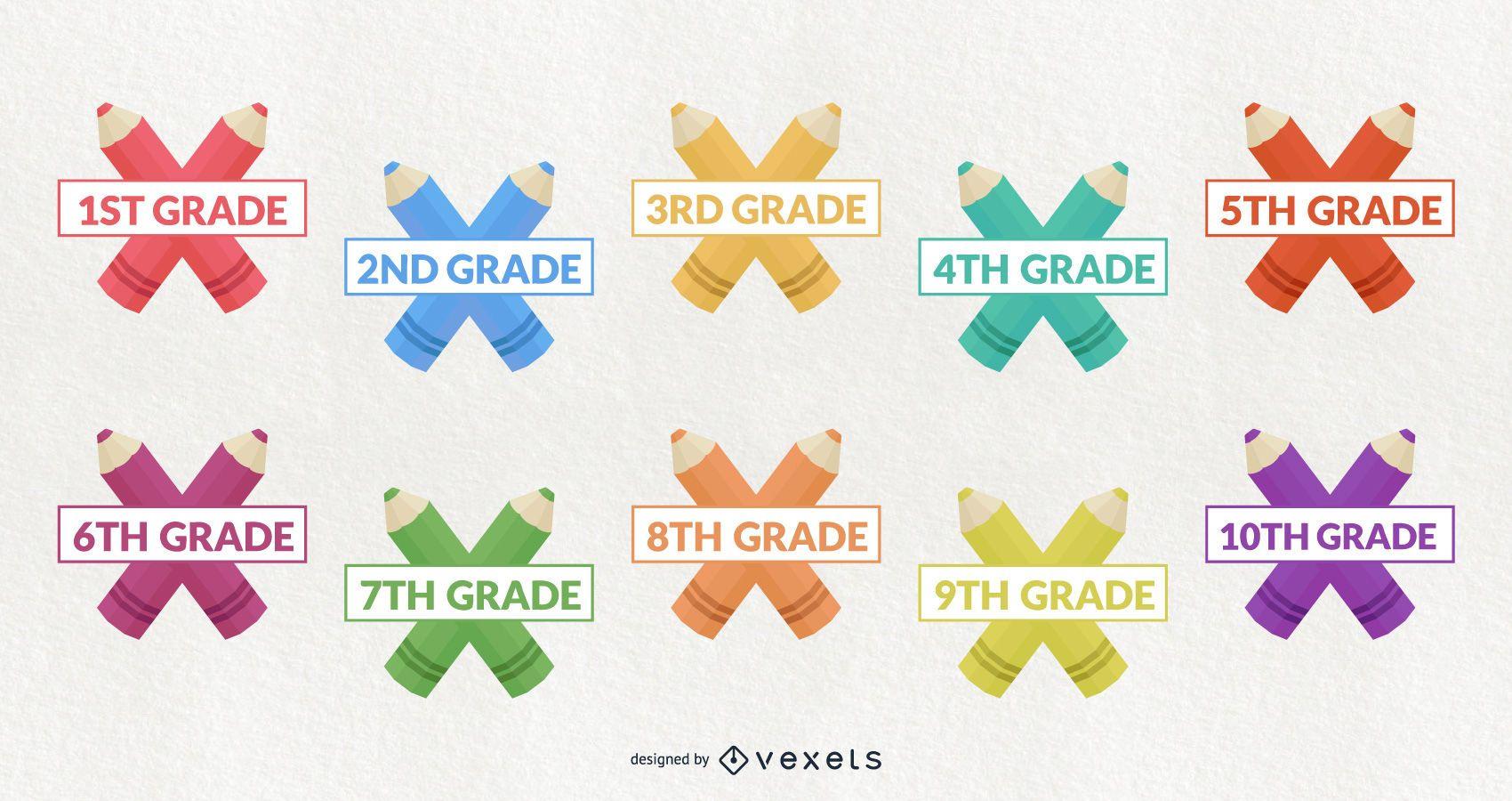 Classroom Decorative School Grade Design Set