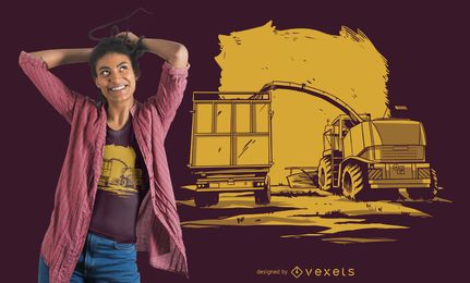 Diseño de camiseta Traktor