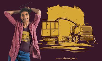 Traktor Camiseta Design