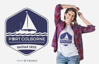 Diseño de camiseta Port Colborne
