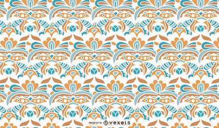 Vintage Ornamental Pattern Design