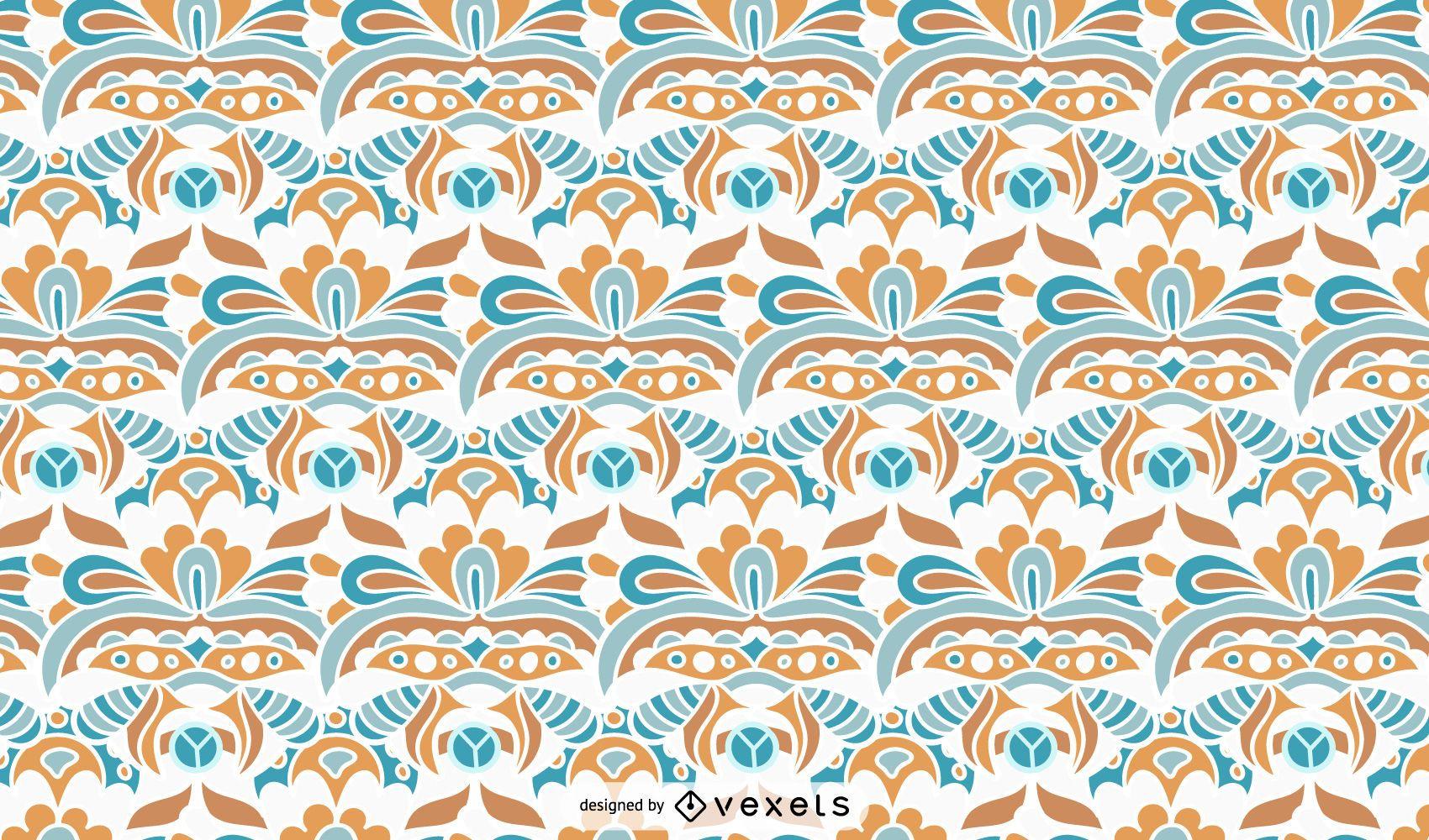 Vintage Ornamental Pattern Design