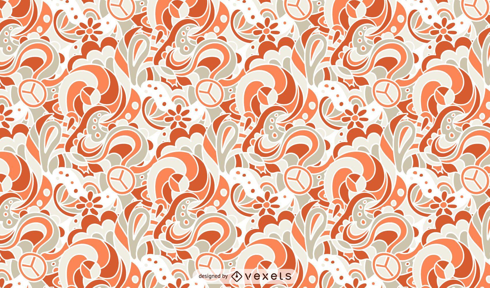 Retro Pattern Ornamental Design