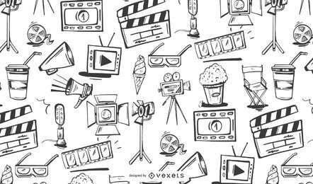 Filmmaking Elements Pattern Design