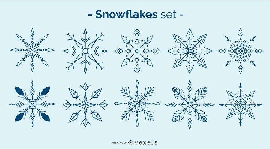 Schneeflocke Design Pack