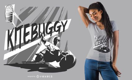 Design de camiseta Kitebuggy