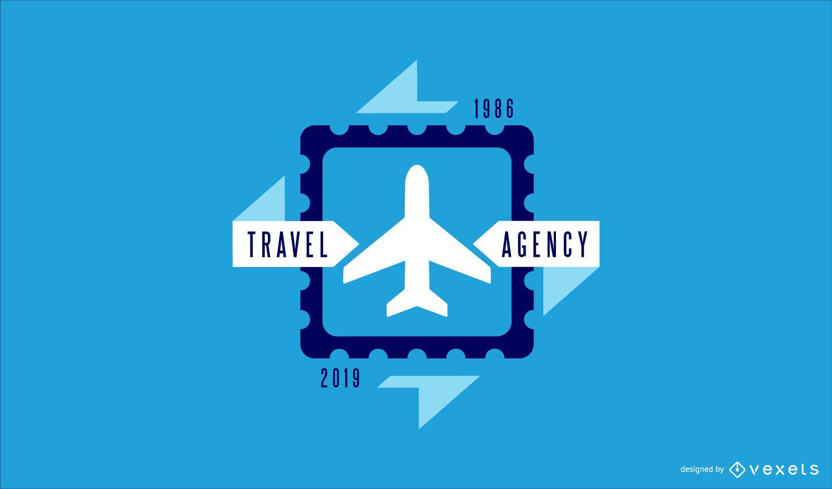 Travel Agency Business Logo Design