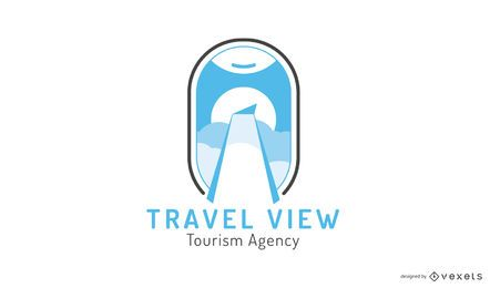 Tourismusagentur Logo Design-Vorlage