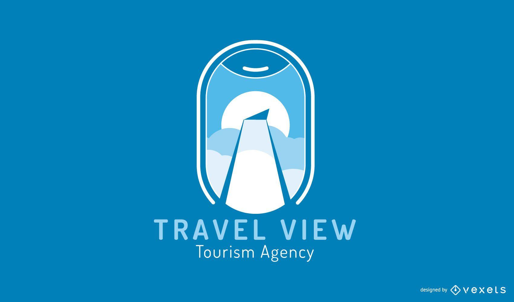 Tourism Agency Logo Design Template