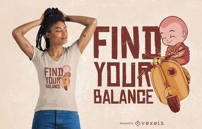 Balance T-Shirt Design