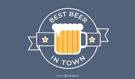 Bestes Bier-Logo-Design