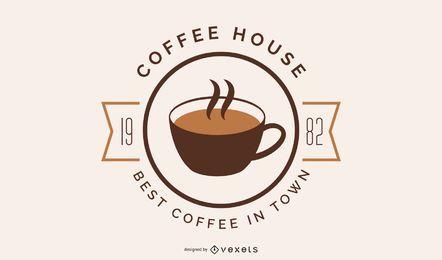 Design de logotipo da cafeteria