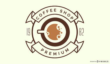 Design do logotipo da cafeteria