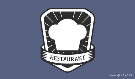 Restaurant chef hat logo design