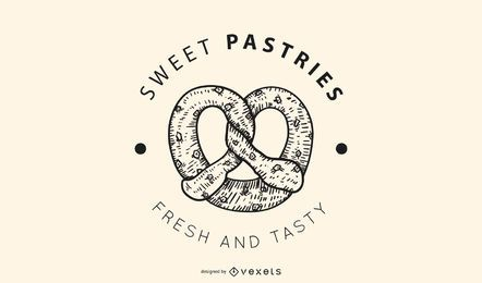Sweet pastries logo design