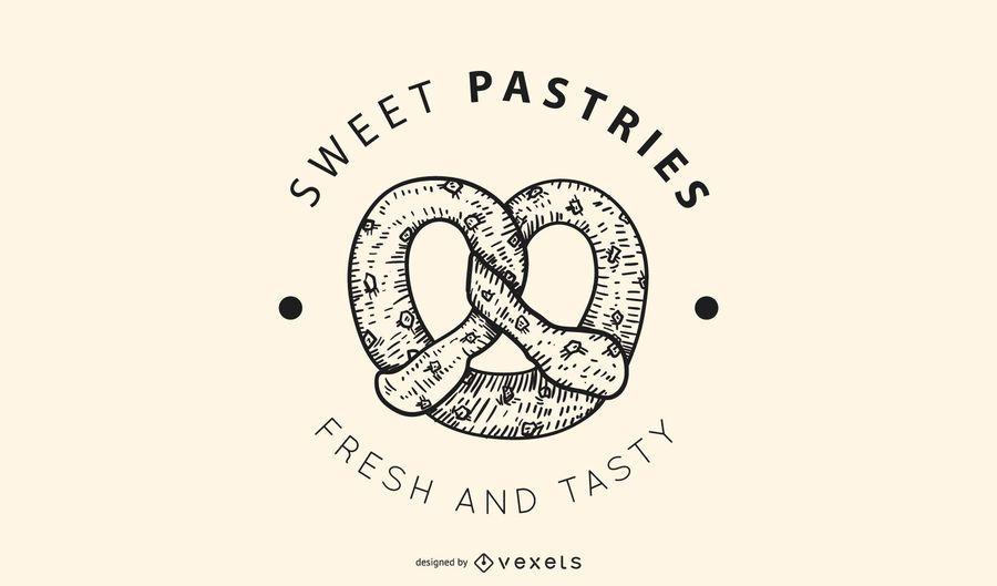 Sweet pastries logo design