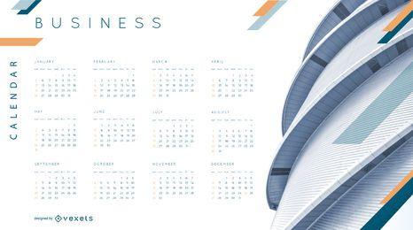 Design de calendário comercial