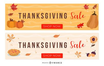 Thanksgiving-Verkaufsset