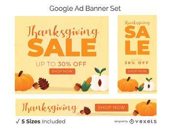 Thanksgiving-Promo-Banner gesetzt