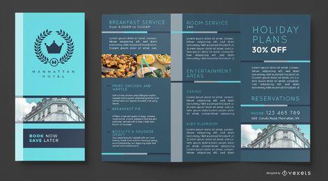 Hotel Broschüre Vorlage