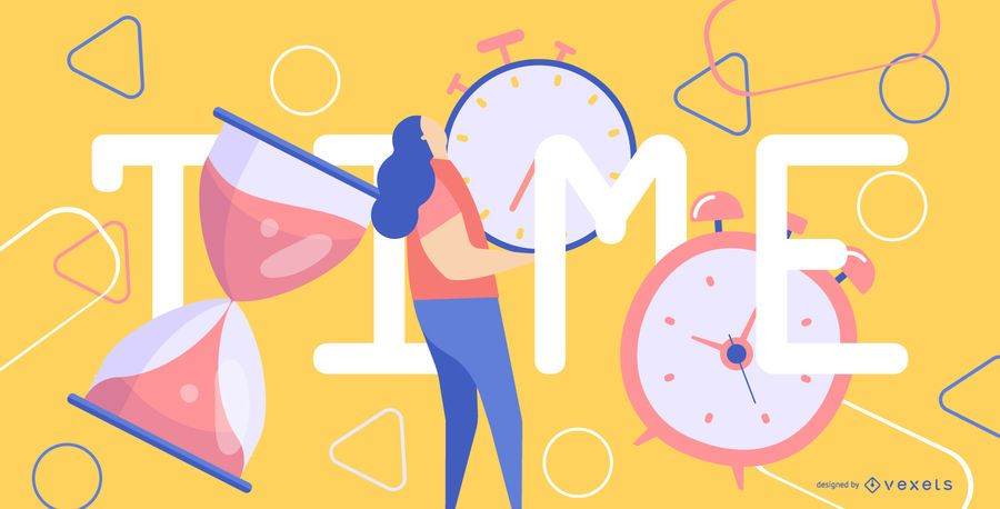Abstract time illustration