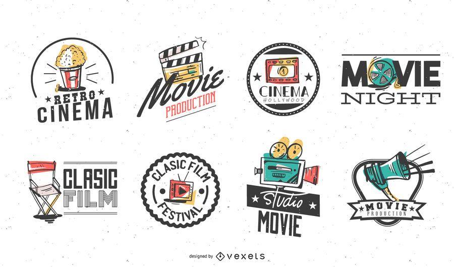 Paquete de insignias de cine