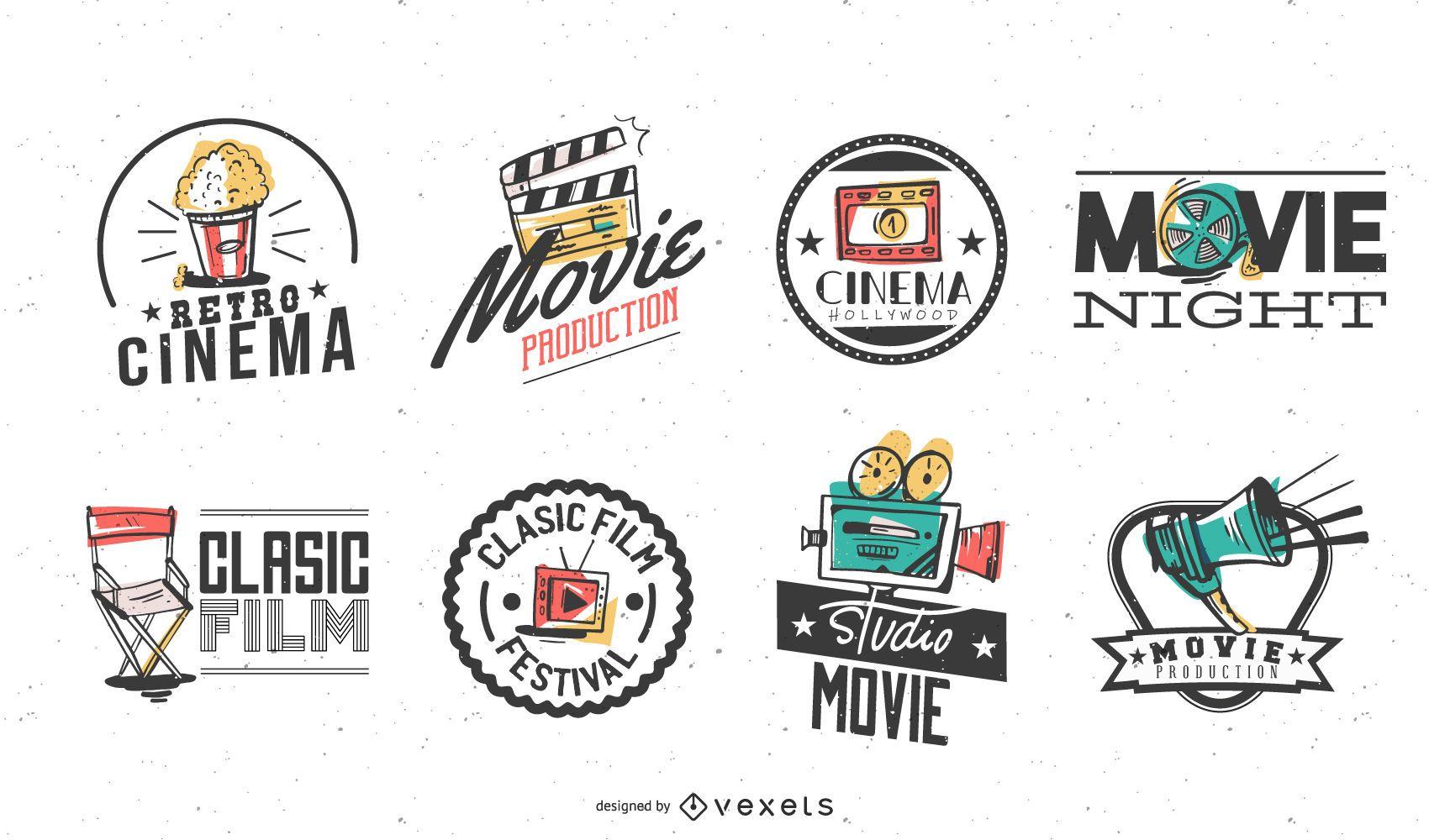 Cinema badges pack