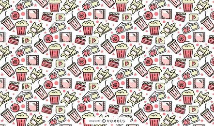 Cinema pattern design