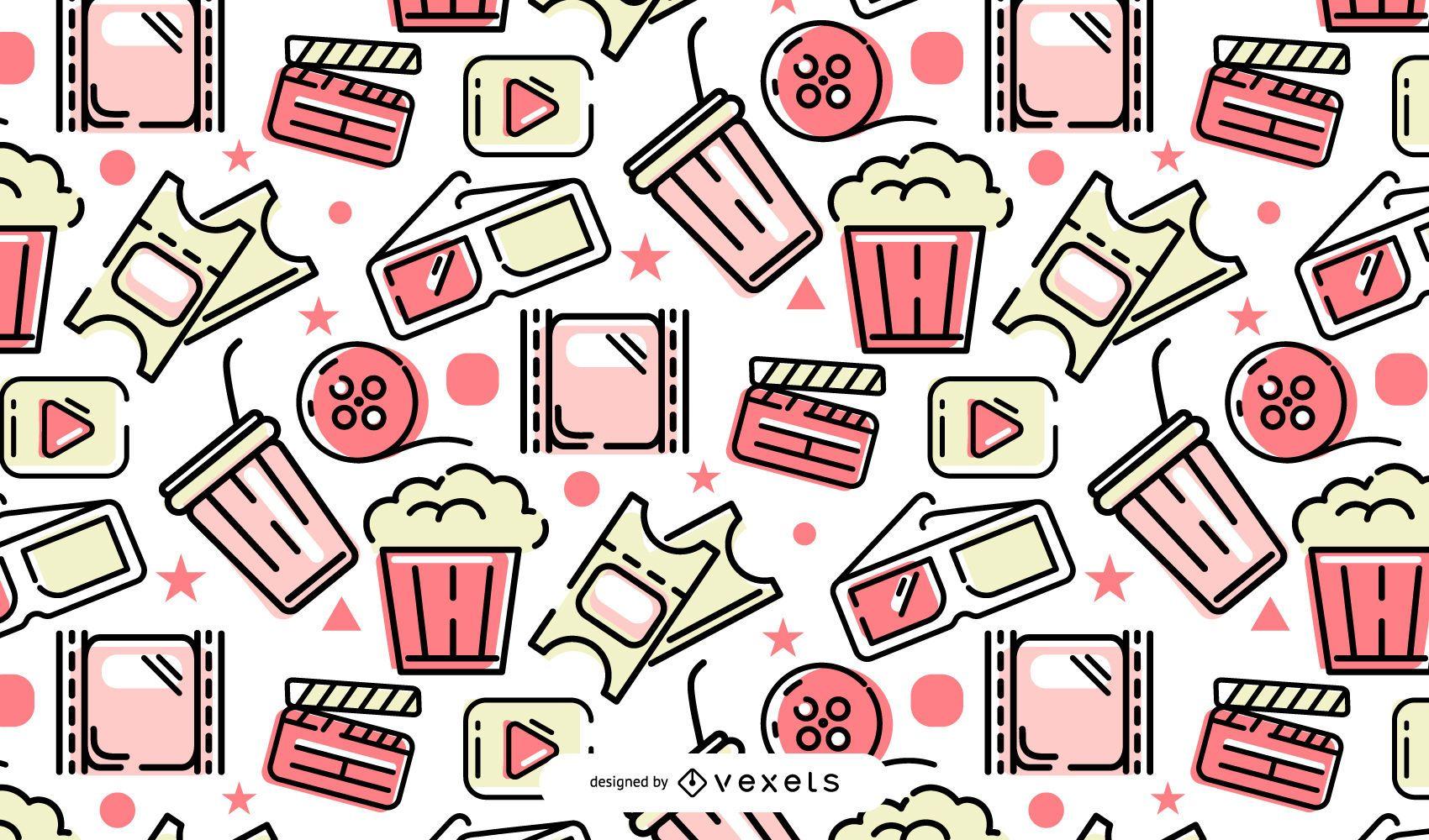 Cinema pattern design