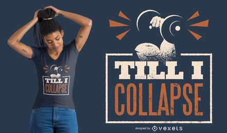 Weightlifting Quote T-shirt Design