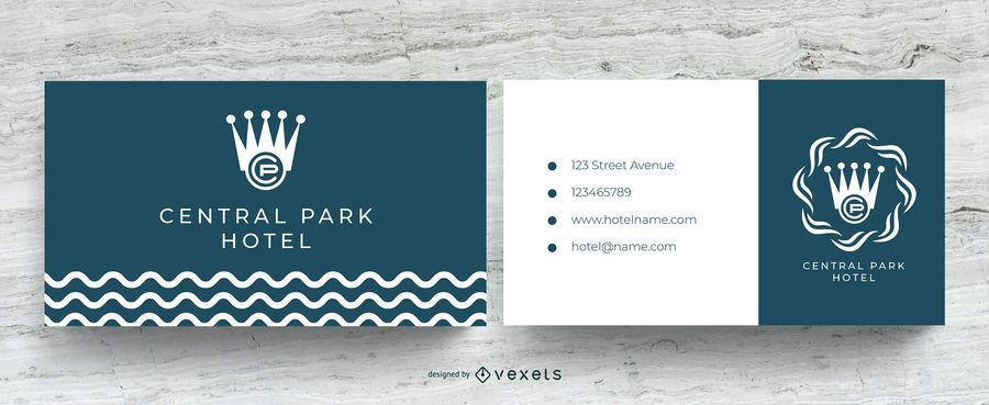 Hotel Visitenkarte Vorlage