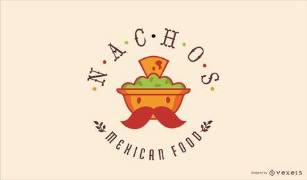 Mexikanisches Essen-Logo-Design