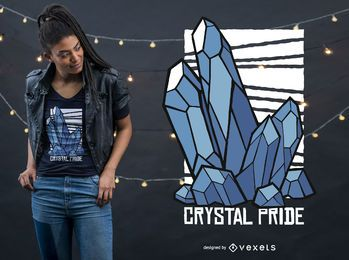 Crystal Pride T-shirt Design