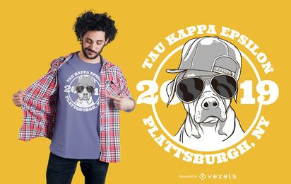 Diseño de camiseta Dog Fraternity