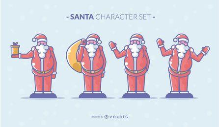 Conjunto de caracteres de santa